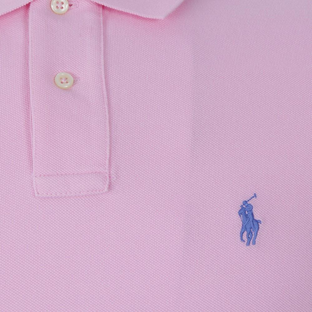 b185fe30 Polo Ralph Lauren Ralph Lauren Caramel Pink Custom Fit Polo Shirt ...