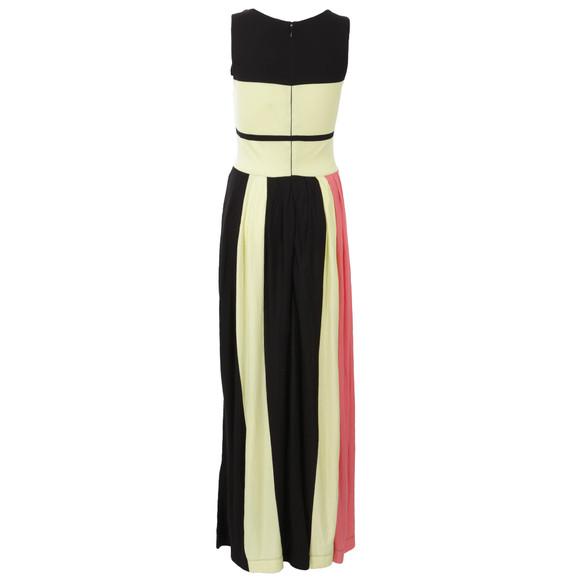 French Connection Womens Black Medina Stripe Sleeveless Dress main image
