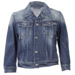 g star slim tailor cropped denim jacket