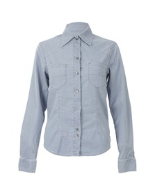 Vivienne Westwood Anglomania Womens Blue Rider Shirt