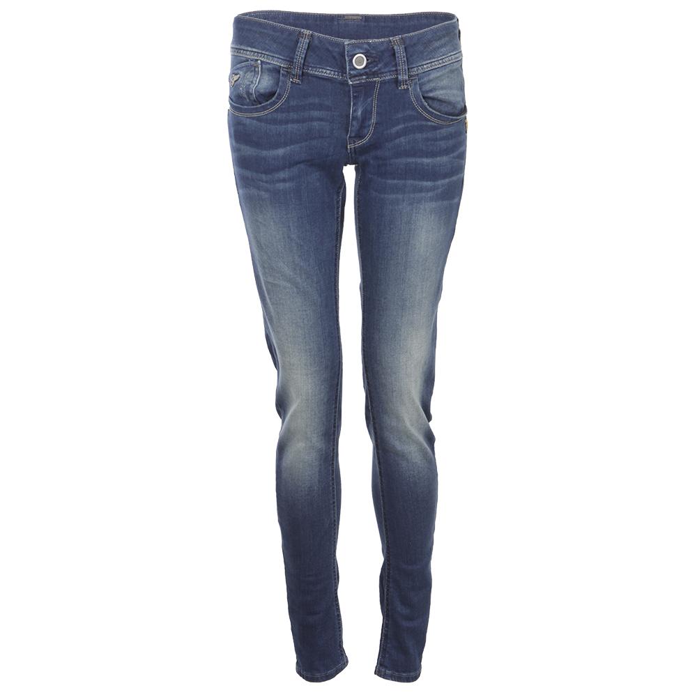 G-Star Womens Blue Lynn Power Wash Skinny Jean