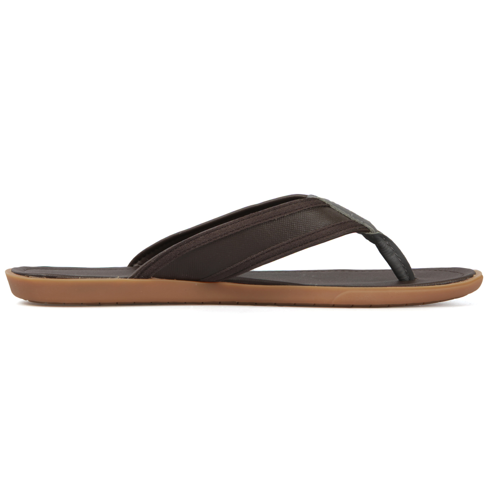 f4a207c41724f9 Lacoste Brown Leather Flip Flop Carros 5 main image