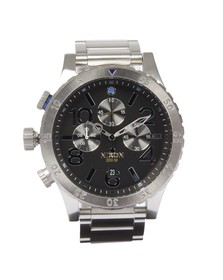 Nixon Mens Blue Nixon 48-20 Chrono Midnight GT Watch