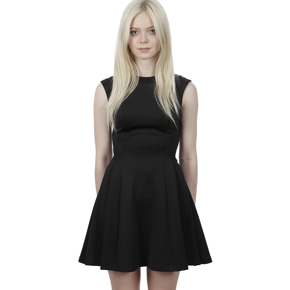 9f736b90c70d69 Ted Baker Nistee Side Pleat Skater Dress