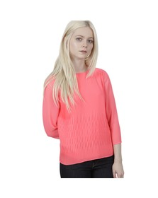 Ted Baker Womens Pink Gyda Long Sleeve Pleat Top