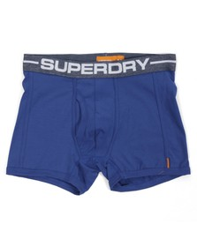 Superdry Mens Blue Superdry Sport Royal Navy Boxer