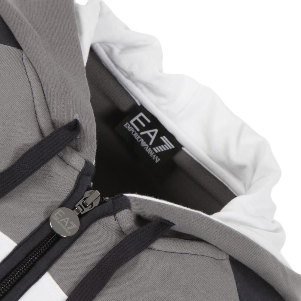 emporio armani ea7 colour block sweatshirt