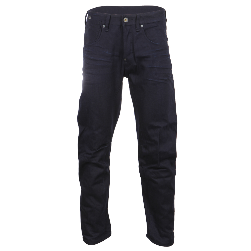 A-Crotch 3D Raw Mazarine Denim Tapered Jean main image