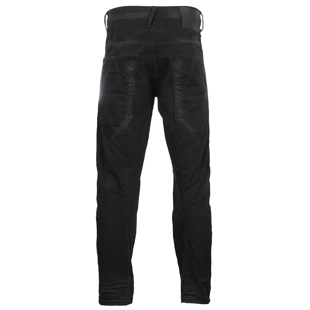 A-Crotch Dark Aged Effer Denim Tapered Jean main image