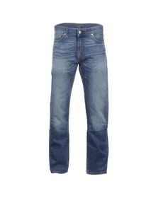 Levi's Mens Blue 504 Regular Straight Fit Jeans
