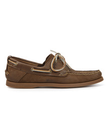 Timberland Mens Brown Heritage Boat Shoe