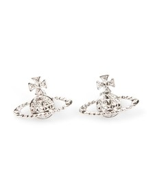 Vivienne Westwood Womens Silver Mayfair Bas Relief Earrings