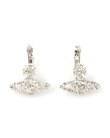 Vivienne Westwood Womens Silver Grace Bas Relief Earrings
