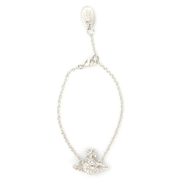 Vivienne Westwood Womens Silver Grace Bas Relief Bracelet main image