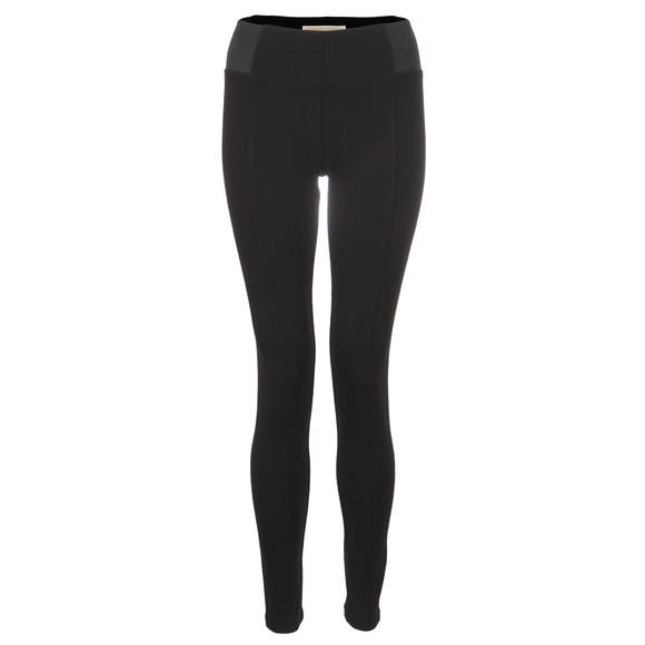 Michael Kors Womens Black Elastic Side Pant main image
