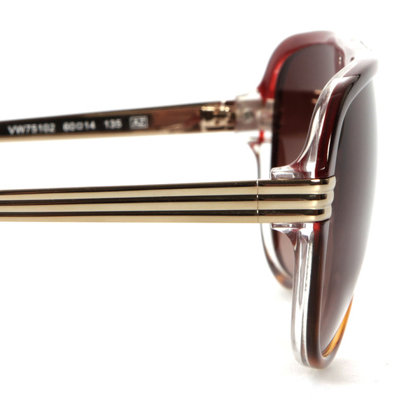 Vivienne Westwood Womens Red 751 Sunglasses main image