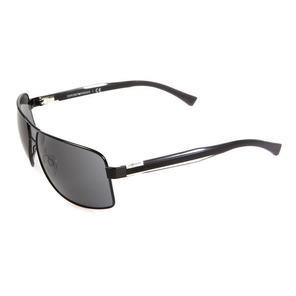 Emporio Armani Mens Black OEA2001 Black Sunglasses main image