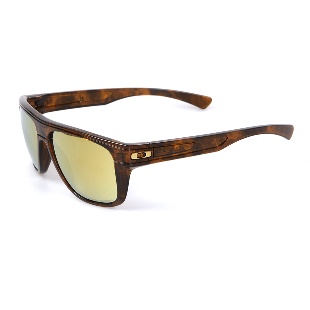 638865c158 Oakley Breadbox Tortoise 24K Iridium Polarized Sunglasses main image