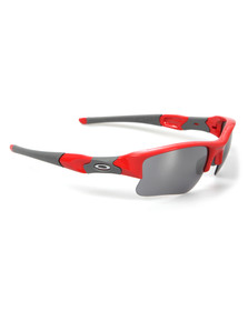 Oakley Mens Red Flak Jacket XLJ Sunglasses