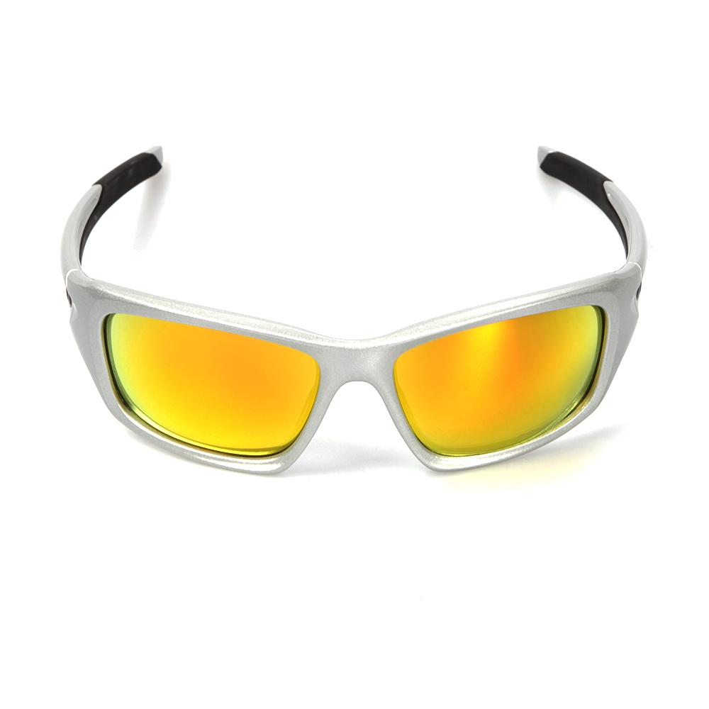 Oakley Valve Silver/Fire Iridium Polarized Sunglasses main image