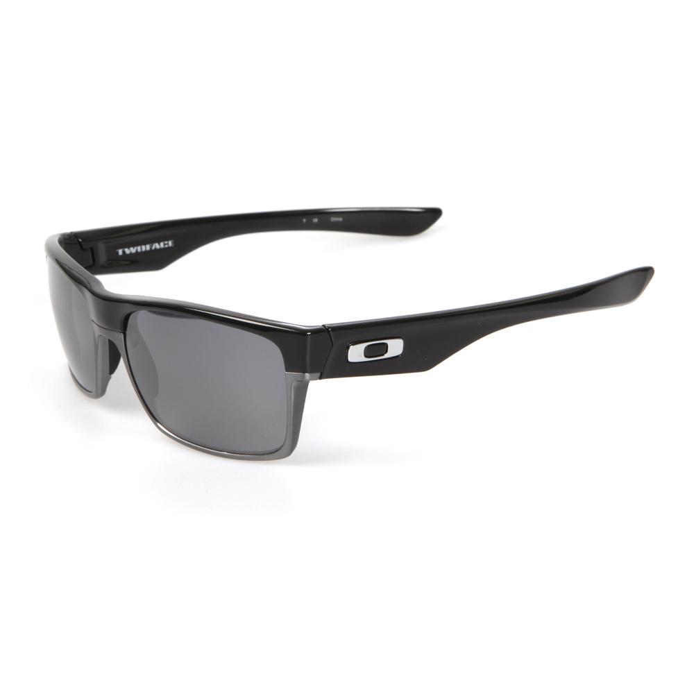 46679a1d84 Oakley TwoFace Polished Black Black Iridium Sunglasses main image