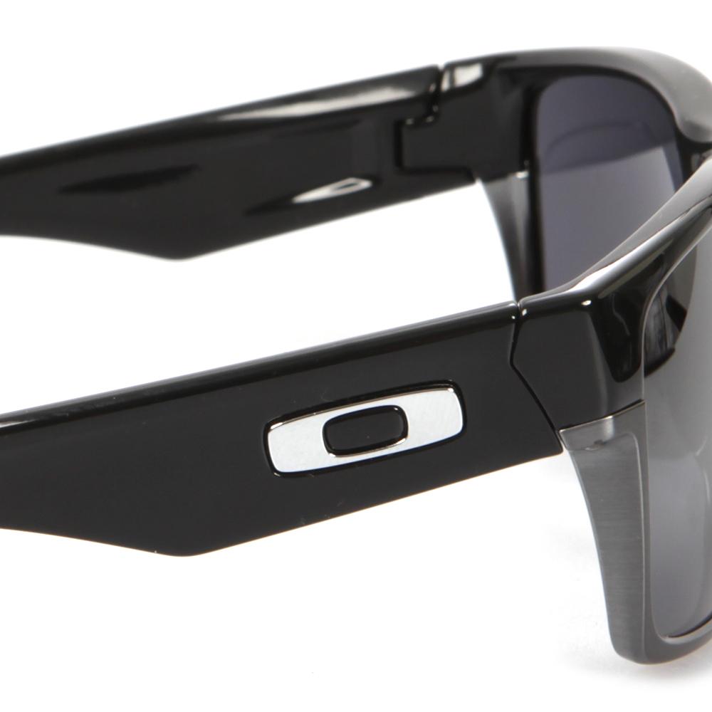 61504f14939cb ... closeout oakley mens black oakley twoface polished black black iridium  sunglasses main image. loading zoom