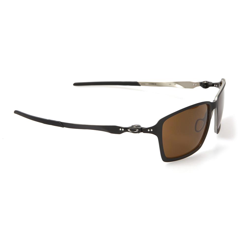 Oakley Tincan Sonnenbrille Matte Black/Dark Bronze N1l3h6H73o