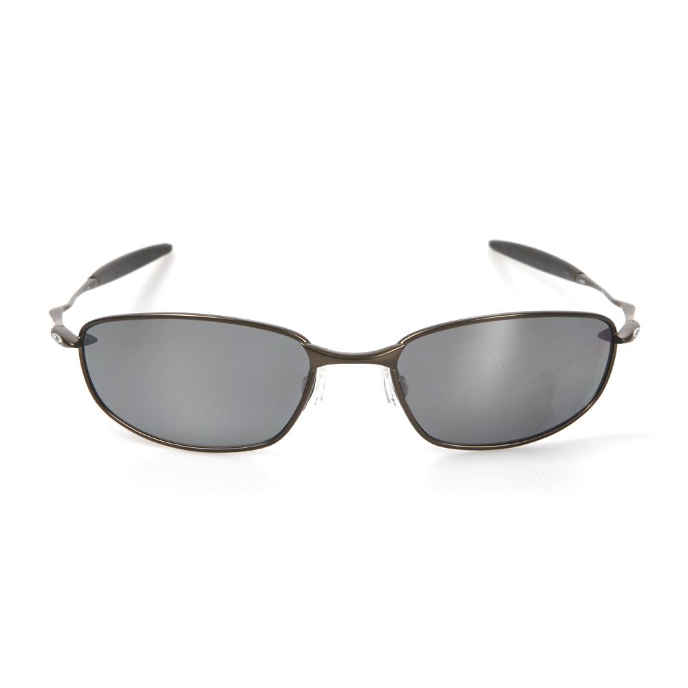 799cebdc48 Oakley Mens Green Oakley Whisker Pewter Emerald Iridium Polarized Sunglasses