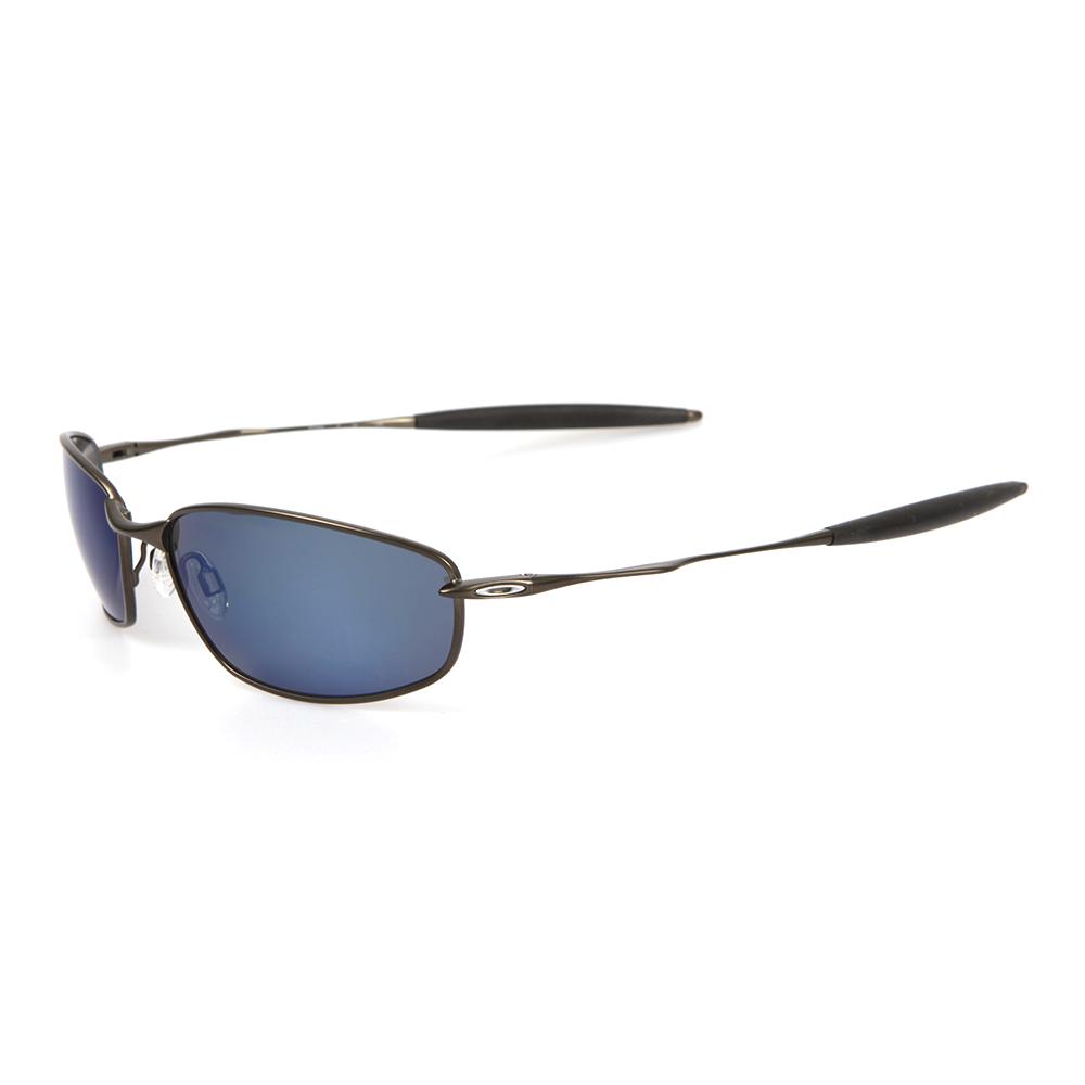3b7e684929 Oakley Mens Bronze Oakley Whisker Pewter Ice Iridium Polarized Sunglasses  main image. Loading zoom