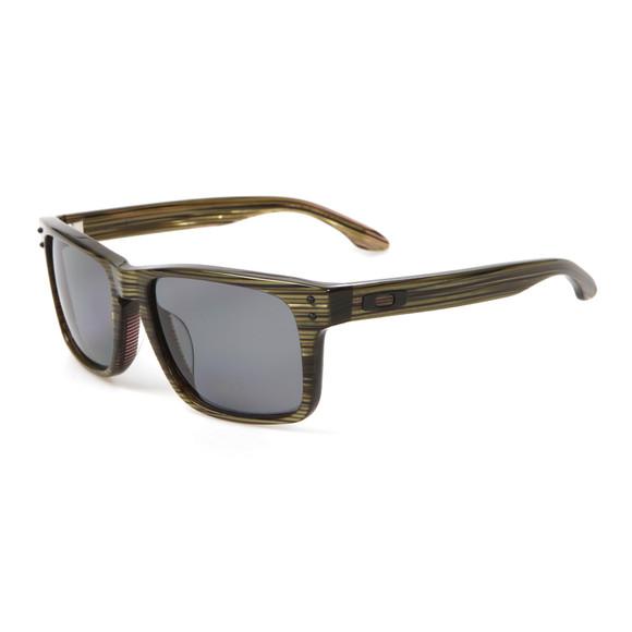 Oakley Mens Green Oakley Holbrook LX Branded Green/Grey Sunglasses main image