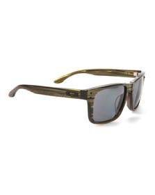 Oakley Mens Green Oakley Holbrook LX Branded Green/Grey Sunglasses