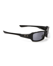 Oakley Mens Black Fives Squared Sunglasses
