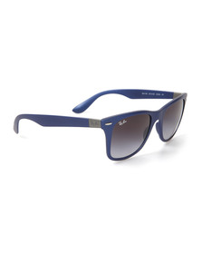 Ray Ban Mens Blue ORB4195 Liteforce Sunglasses