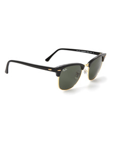 Ray Ban Mens Beige ORB3016 Clubmaster Sunglasses