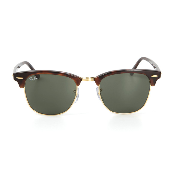 Ray-Ban Mens Brown ORB3016 Clubmaster Sunglasses