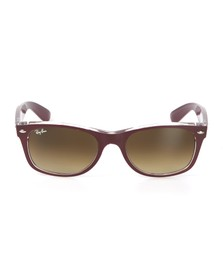 Ray Ban Mens Red Wayfarer Sunglasses