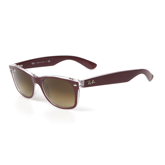 Ray Ban Mens Red Wayfarer Sunglasses main image