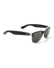 Ray Ban Mens Black Wayfarer Sunglasses