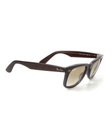 Ray Ban Mens Brown ORB2140 Original Wayfarer Sunglasses