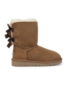 Ugg Girls Brown Bailey Bow Boot