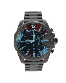 Diesel Mens Black Diesel DZ4318 Mega Chief Watch