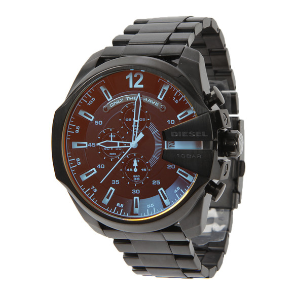 Diesel Mens Black Diesel DZ4318 Mega Chief Watch main image