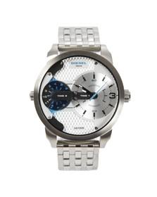 Diesel Mens Grey Mini Daddy DZ7305 Metal Watch