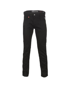 Replay Mens Black Anbass Slim Jean