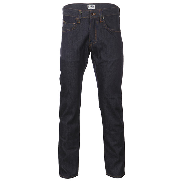 Edwin Mens Blue Compact Denim Relaxed Tapered Jean main image