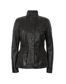 Matchless Womens Black Notting Hill Leather Jacket
