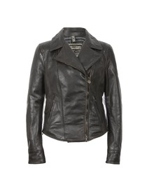 Matchless Womens Black Soho Leather Blouson
