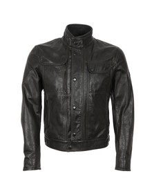 Matchless Mens Black Kensington Leather Blouson