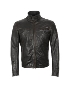 Matchless Mens Black Osborne Leather Blouson