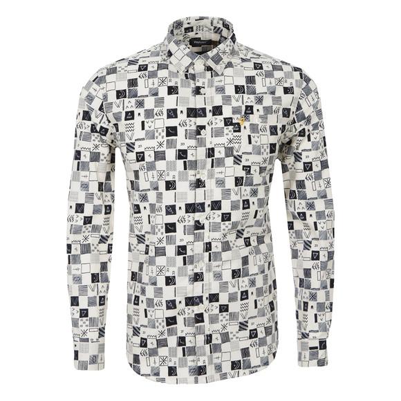 Farah Laxey Patterned Shirt | Masdings